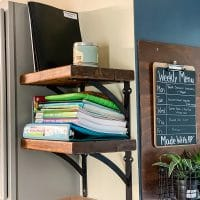 How To DIY Wood Simple Shelves