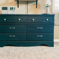 How To Upcycle Furniture Using DecoArt Chalky Finish Paint