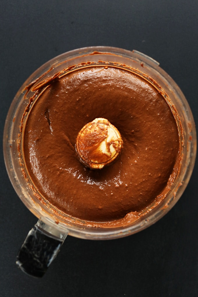 Chocolate Peanut Butter Avocado Pudding