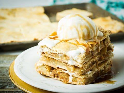 Sheet Pan Apple Slab Pie