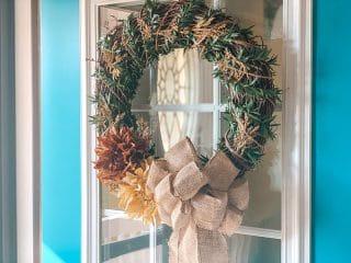 DIY Fall Twig Wreath