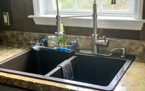 brown miseno composite sink