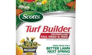 Scotts Turf Builder Winterguard Fall Lawn Fertilizer Plus Weed Control
