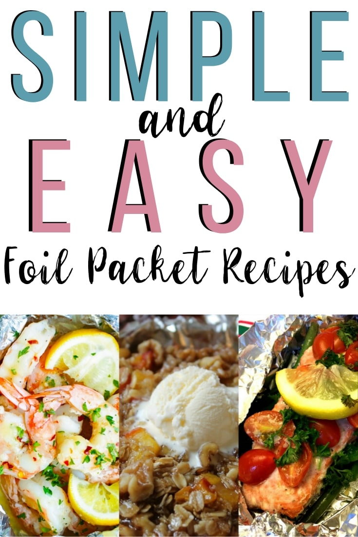simple and easy foil pack recipes