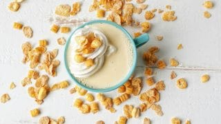 Cereal Milk White Hot Chocolate