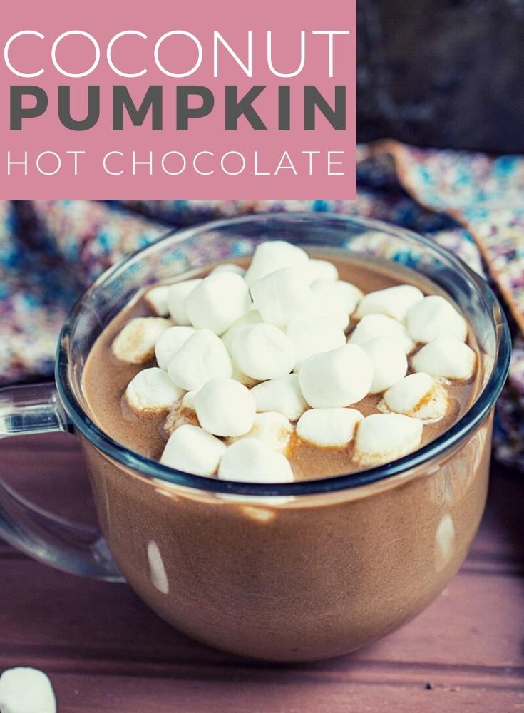 coconut pumpkin hot chocolate