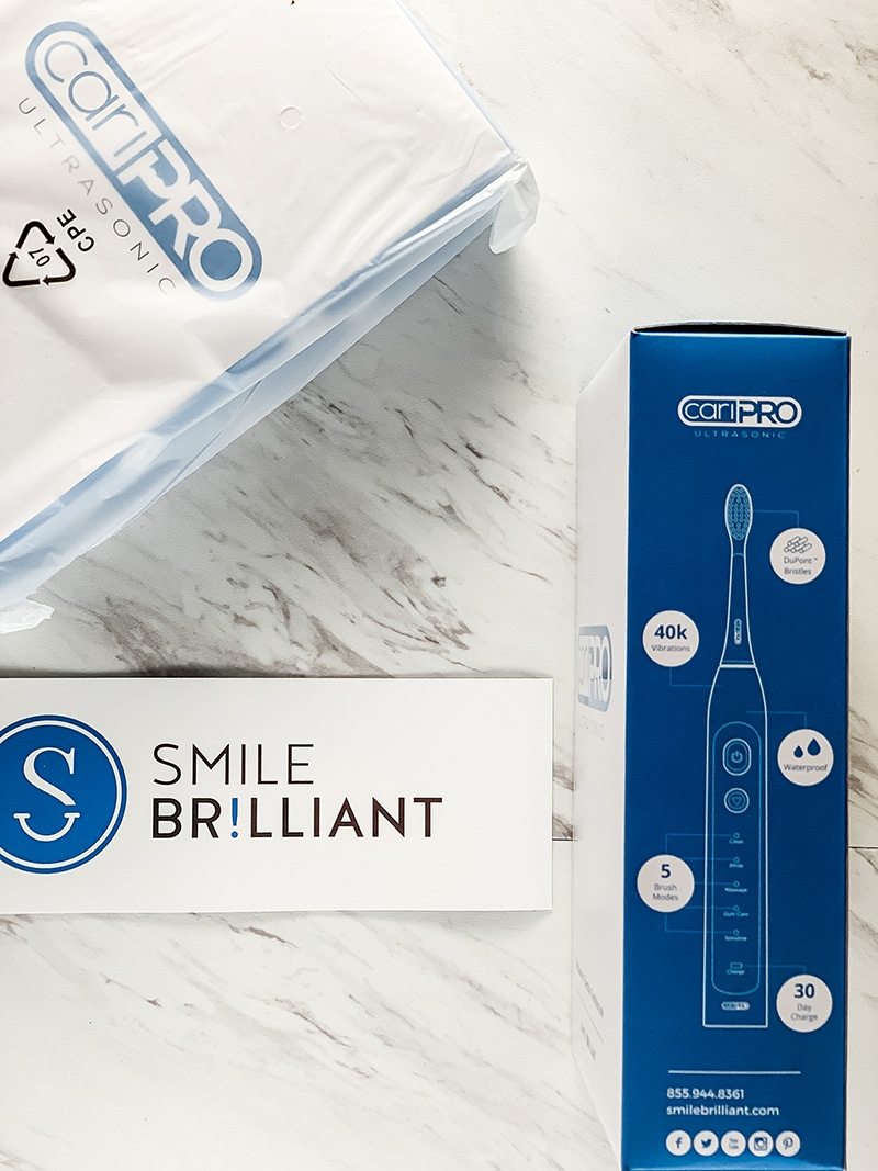 smile brilliant electric toothbrush