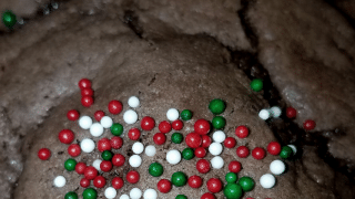 Chocolate Rolo Surprise Cookies