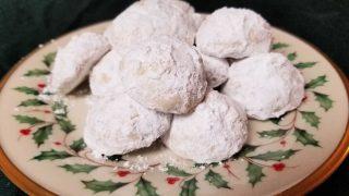 Gluten Free Russian Tea Cakes