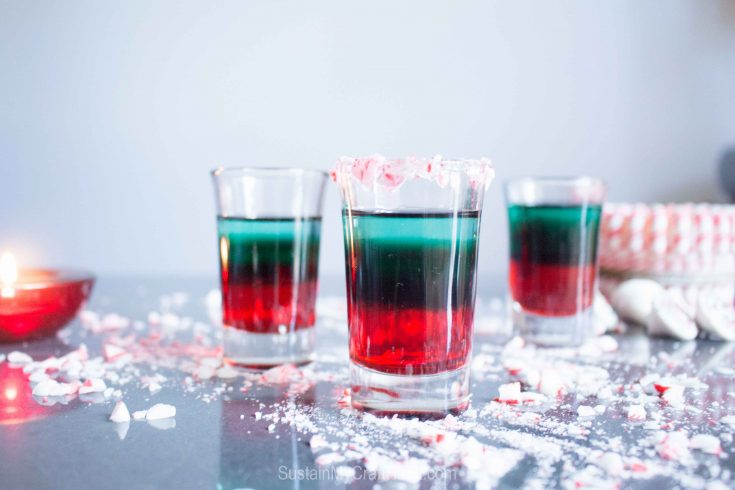 Layered Peppermint Shooter