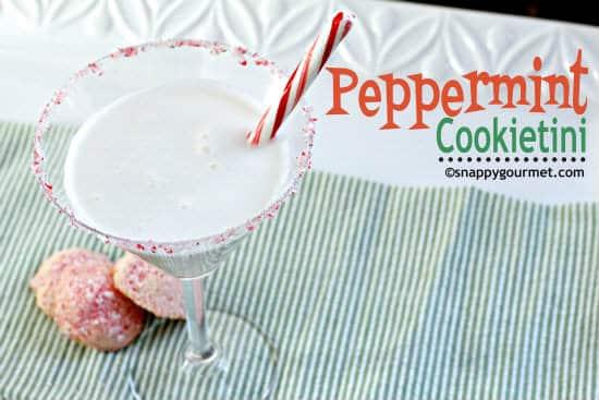 Peppermint Cookietini Cocktail Recipe
