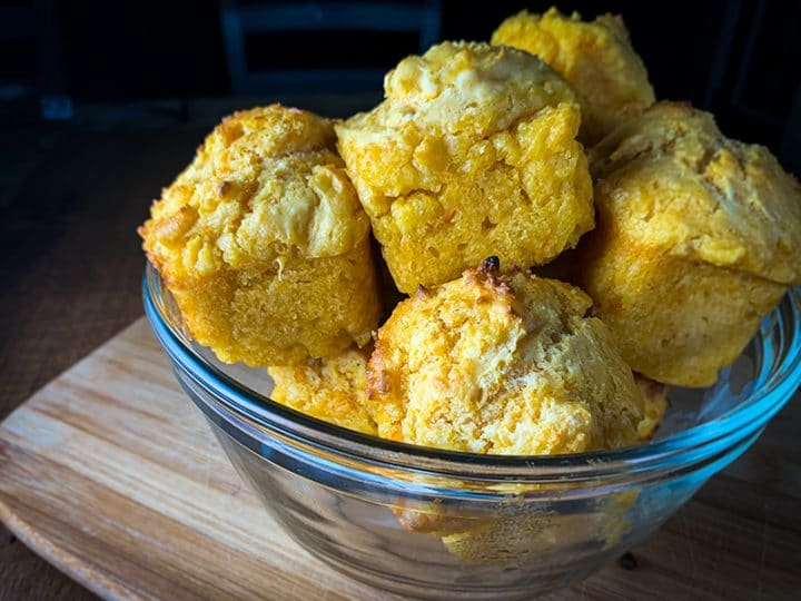 Quick and Easy Sweet Potato Drop Biscuits