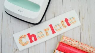 Burp Cloth with Baby's Name
