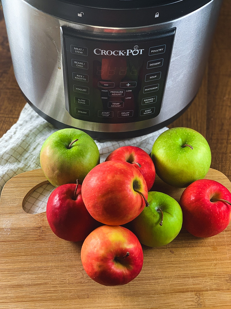 apples and instant pot