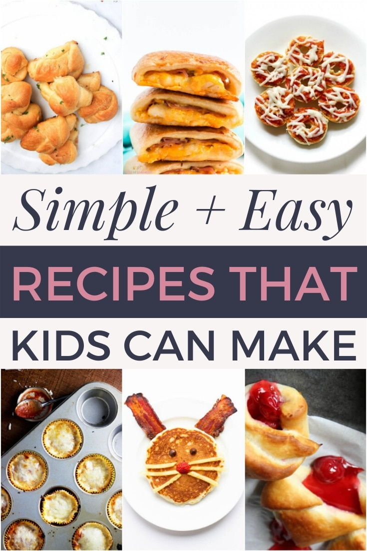 simple and easy recipes that kids can make