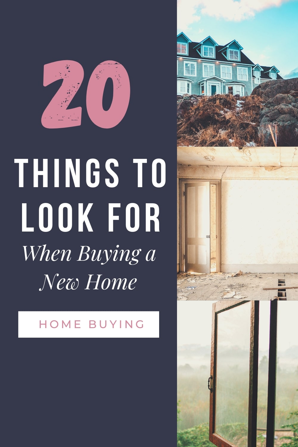 20 Things To Pay Attention To When Buying A New Home