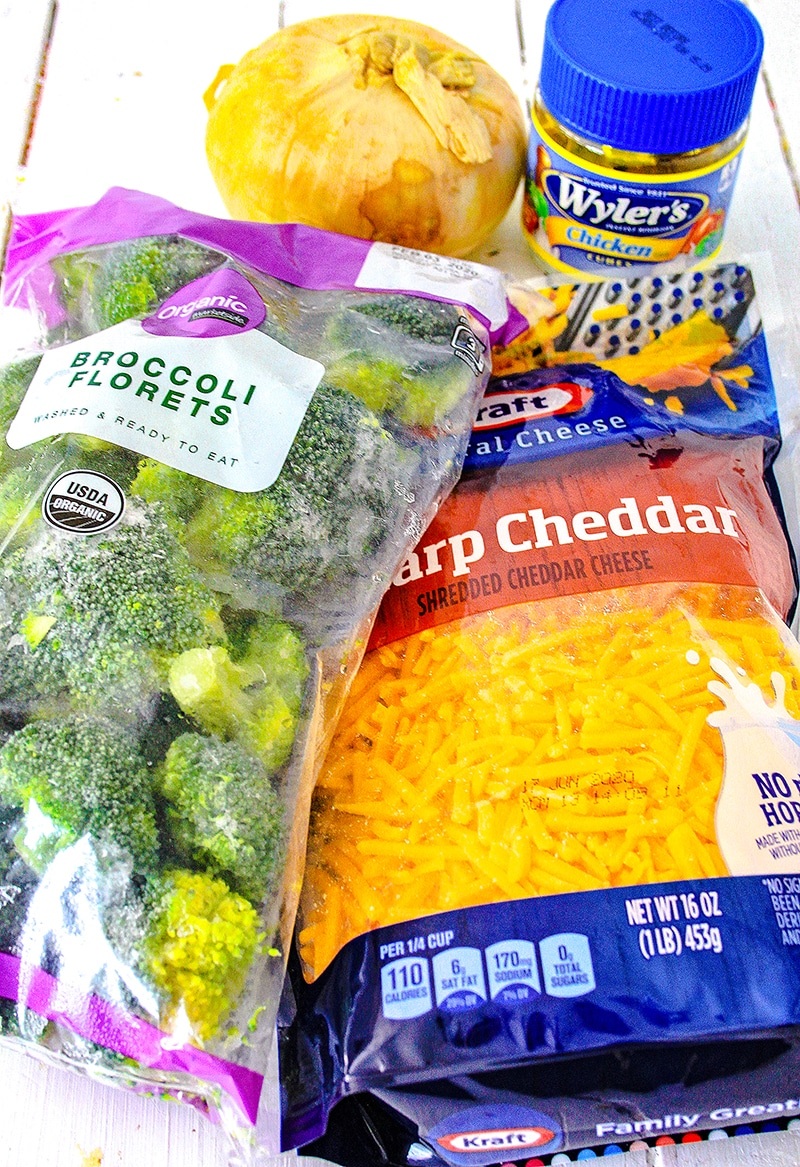 ingredients for soup recipe