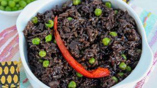 Instant Pot Haitian Black Rice (Diri Djon Djon)