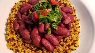 Red Beans & Tri-Color Quinoa