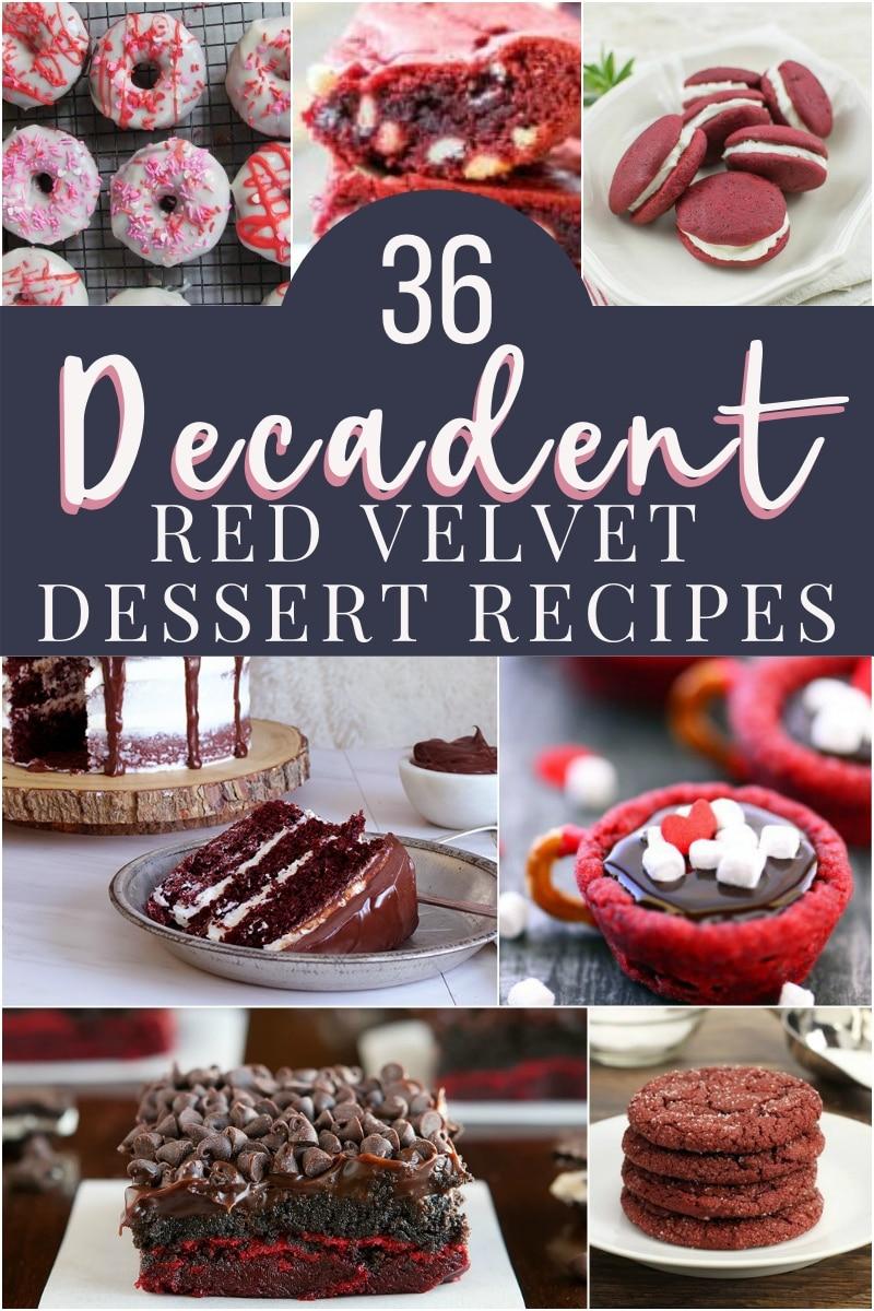 3 decadent red velvet dessert recipes