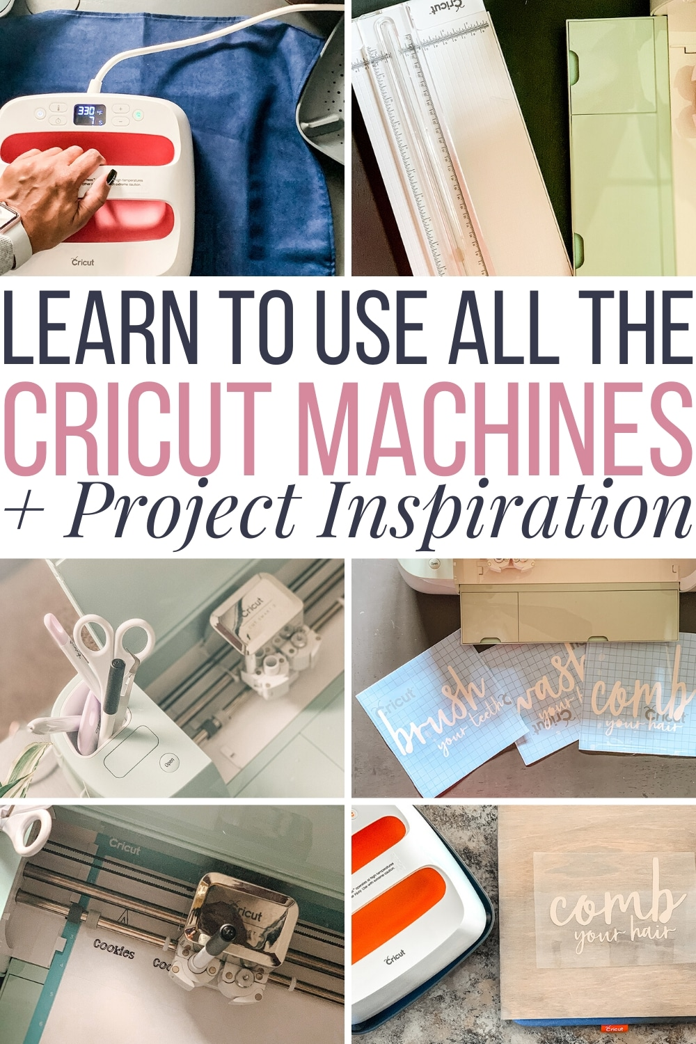learn to use cricut machines plus cricut projects for beginners